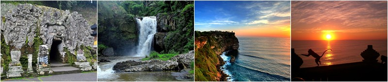 Goa Gajah | Waterfall | Uluwatu