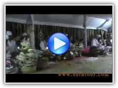 Mass Bali Ceremony in the night after Bali Cremation (part 9)